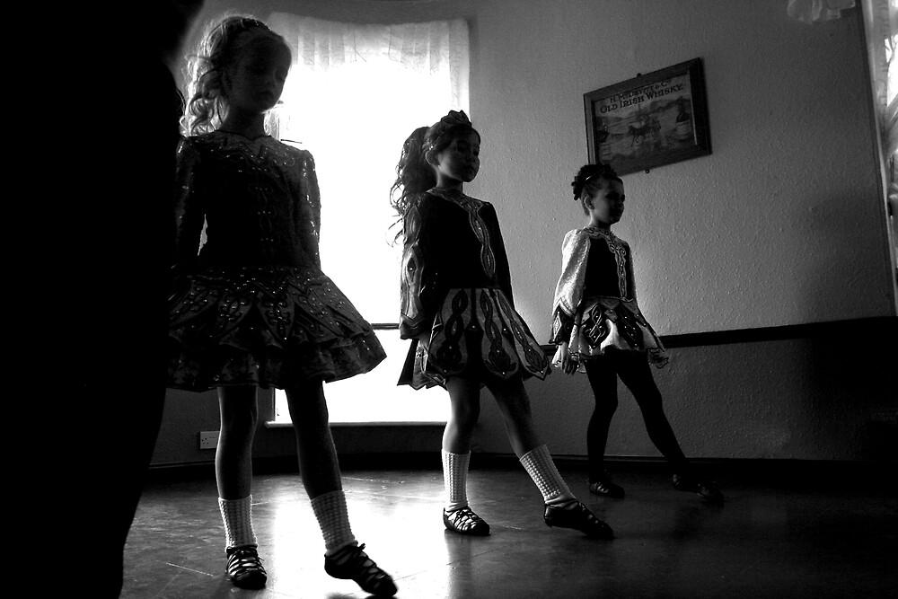 Irish dancers x3 by paul hilton