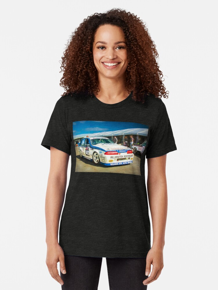 Alternate view of Garry Willmington Group A Commodore Tri-blend T-Shirt