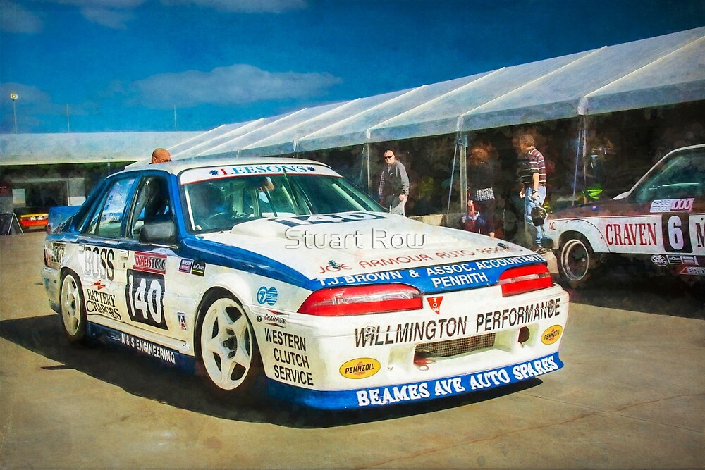 Garry Willmington Group A Commodore by Stuart Row