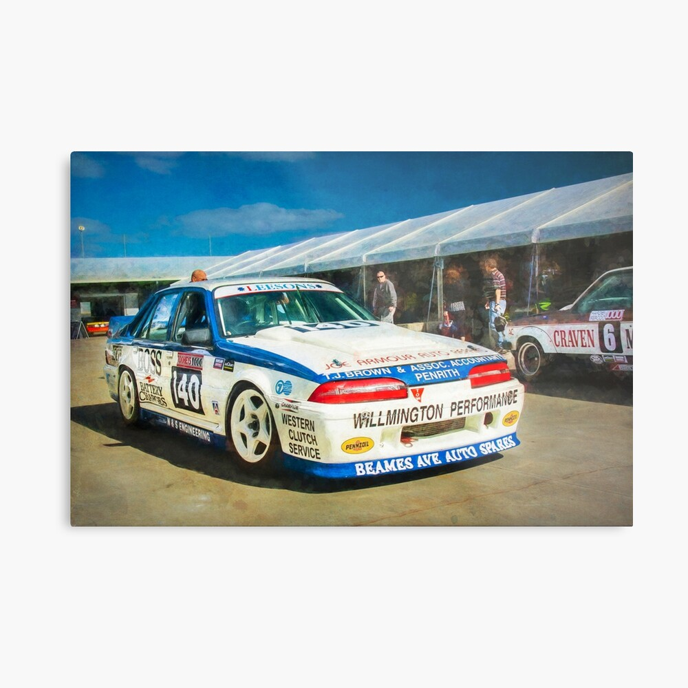 Garry Willmington Group A Commodore Metal Print