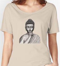 Shh ... do not disturb - Buddha - New Women's Relaxed Fit T-Shirt