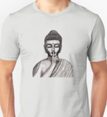 Shh ... do not disturb - Buddha - New T-Shirt