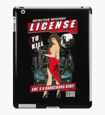 DETECTIVE MYSTERY - License to Kill iPad Case/Skin