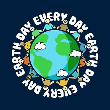 Earth Day Every Day Shirt for Teachers by BootsBoots