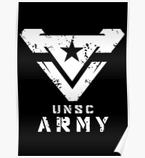 Halo | UNSC Army Large Weathered Logo Poster
