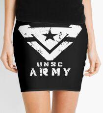 Halo   UNSC Army Large Weathered Logo Mini Skirt