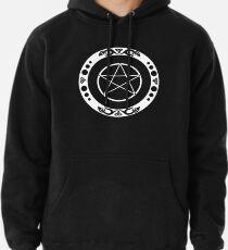 Pentagramm mit trinity Symbol. Hoodie