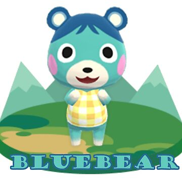 Animal Crossing Pocket Camp Bluebear Announce by dubukat