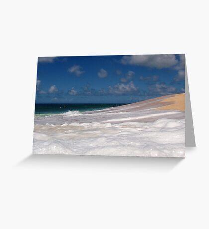 Bubble Beach Greeting Card