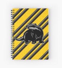 Helga's Badger Spiral Notebook