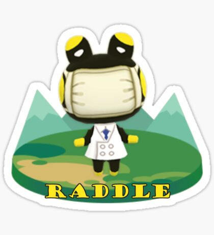 Animal Crossing Pocket Camp Raddle Announce Sticker