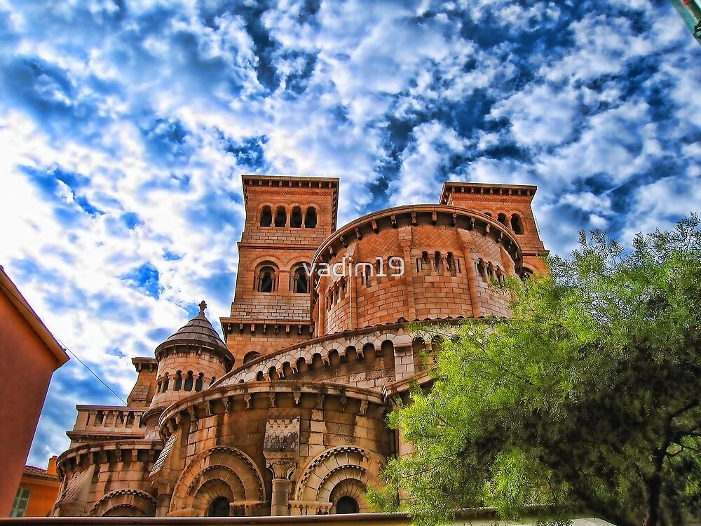 Saint Nicholas Cathedral, Monaco by vadim19