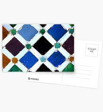 Alhambra Tile #2 Postcards