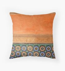 Marrakech, Morocco Throw Pillow