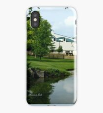 Kentucky Horse Park ~ Barn iPhone Case/Skin