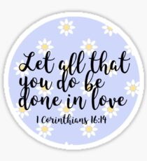 Bible verse Sticker