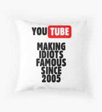 Idioten von YouTube Dekokissen