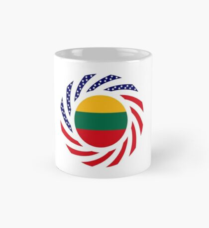 Lithuanian American Multinational Patriot Flag Series Mug