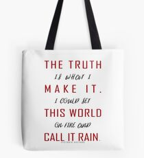 Red Queen by Victoria Aveyard | The Truth Tote Bag