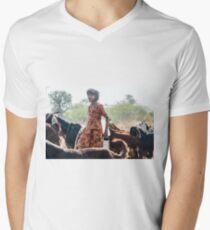 Goatherder Men's V-Neck T-Shirt