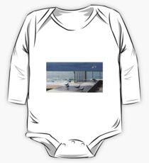 the light!  at Burnie beach, with silver gulls One Piece - Long Sleeve