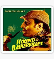 SHERLOCK HOLMES : Vintage Hound of the Baskervilles Print Sticker