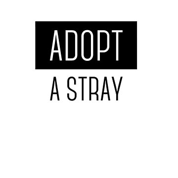 ADOPT A STRAY by Josef1981
