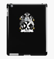 Hunt Coat of Arms - Family Crest Shirt iPad Case/Skin