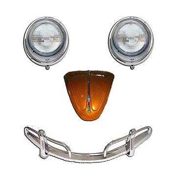 Happy Happy Happy - VW Smiley Face by Harrysdesigns