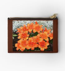 Orange Lilies in My Garden Studio Pouch