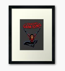 The Amazing Childish Gambino  Framed Print