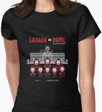 La casa de papel Women's Fitted T-Shirt