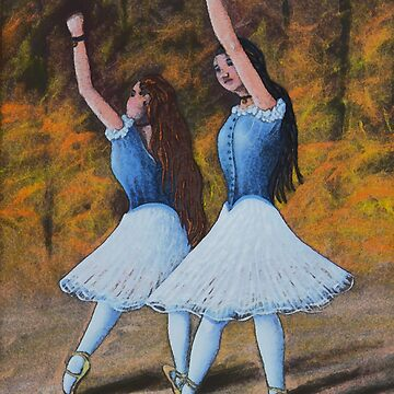 Two Ballerinas by ajisbister