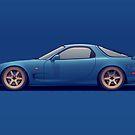 Mazda RX-7 by Philip Ackermann