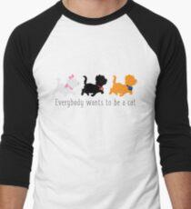 The Aristocats Baseball ¾ Sleeve T-Shirt
