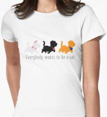 Camiseta entallada para mujer Los aristócratas