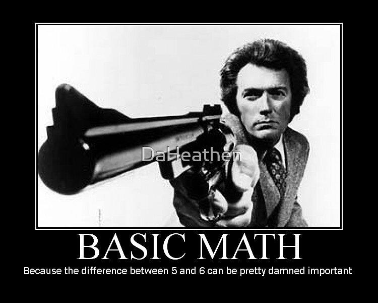 Clint Eastwood: Basic Math by DaHeathen