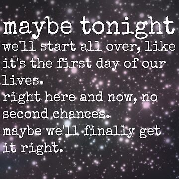 Maybe Tonight by TheLovelyBooks