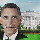 Barack Obama by yevad98