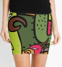 birds Mini Skirt