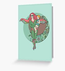 Alter Ego Greeting Card