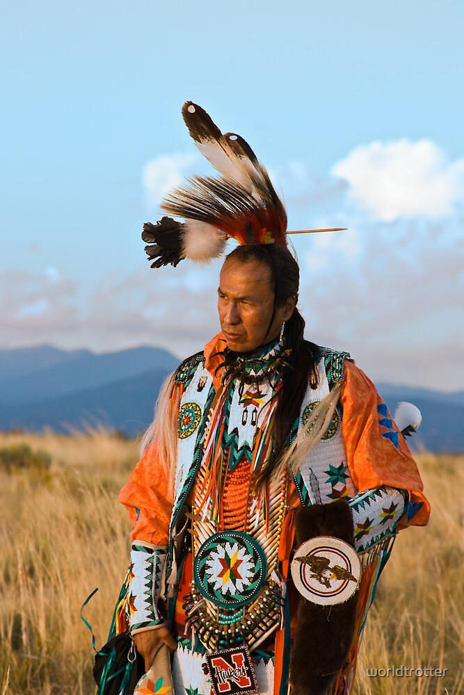 Native American Dancer Anthony Parker by Tomas Abreu