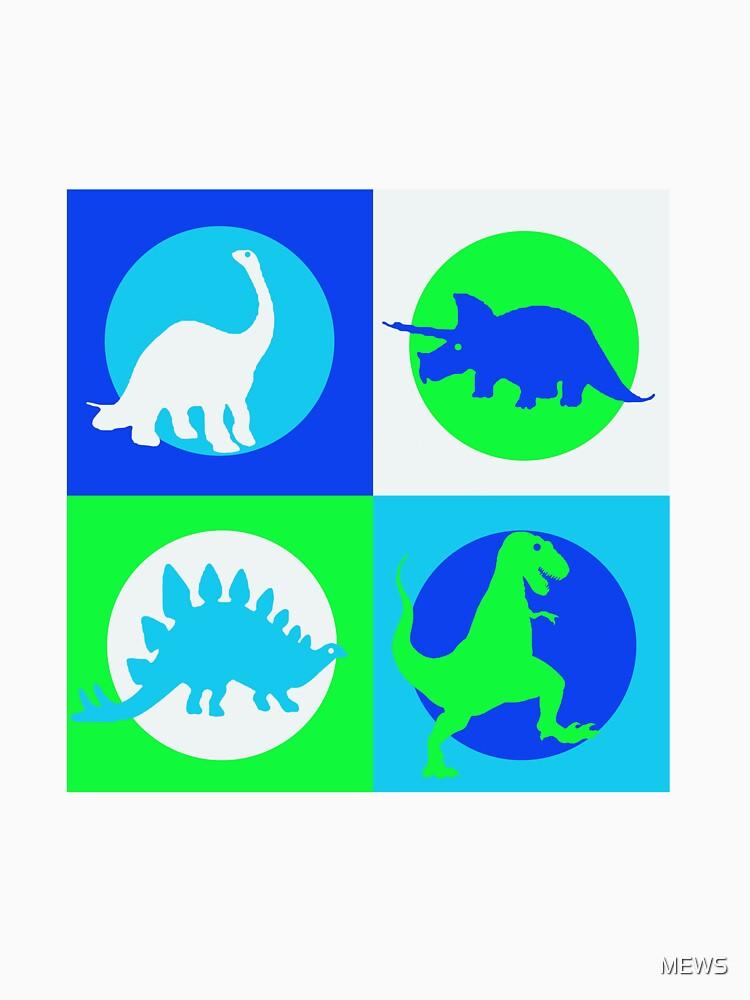 Dino Madness - Grün von MEWS