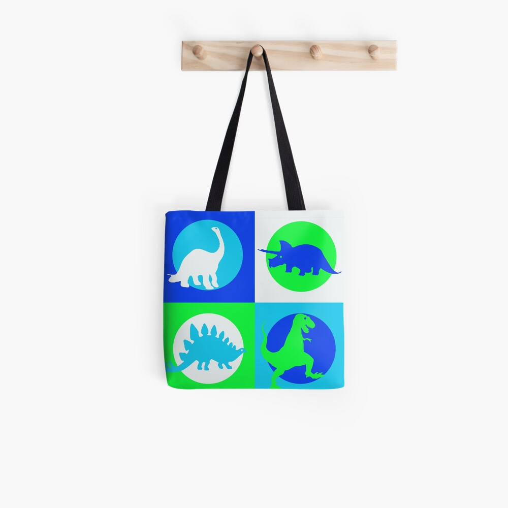 Dino Madness - Grün Tote Bag