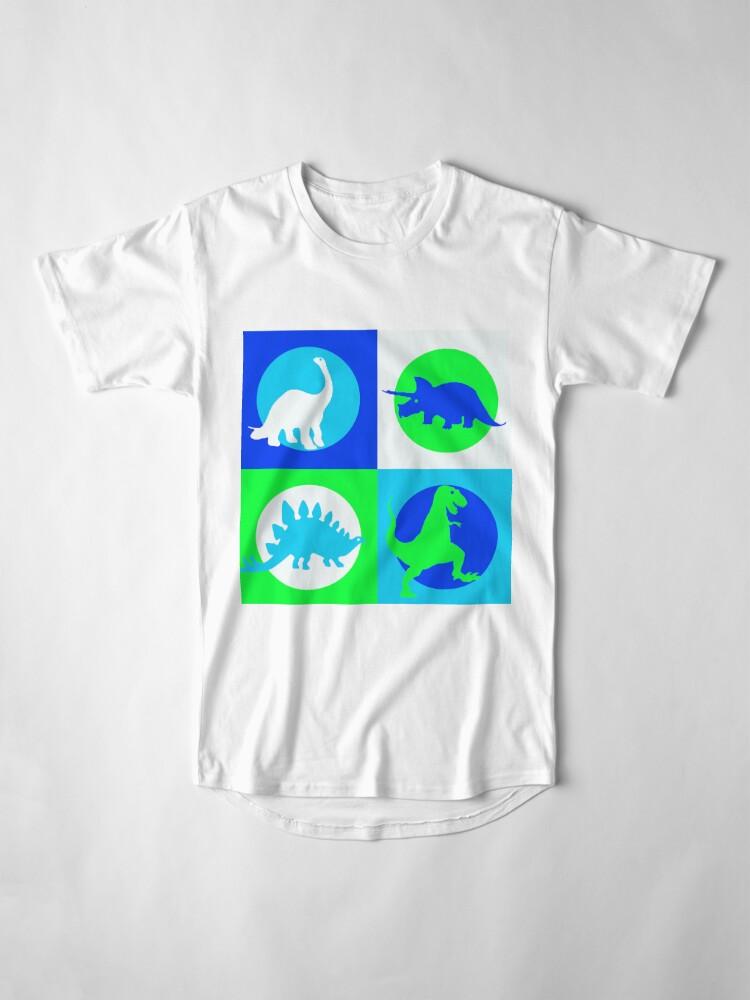 Alternative Ansicht von Dino Madness - Grün Longshirt
