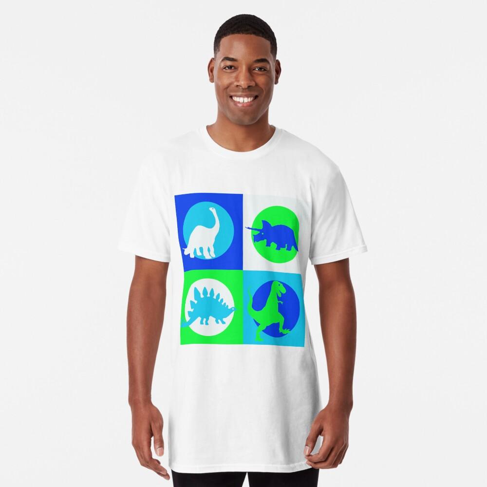 Dino Madness - Grün Longshirt