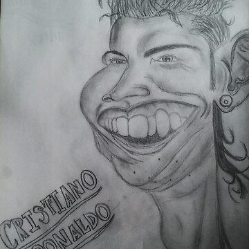 Cristiano Ronaldo Cartoon by danbrobro