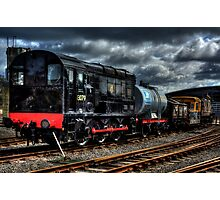 BR 13079 Class 08 Shunter Photographic Print
