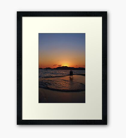 Acapulco Sunset Framed Print