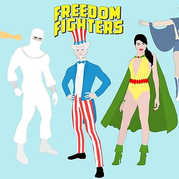 Freedom Fighters - Minimalist Style by TheWrightMan